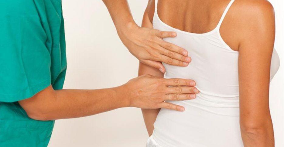 Osteopatía, dolores de espalda