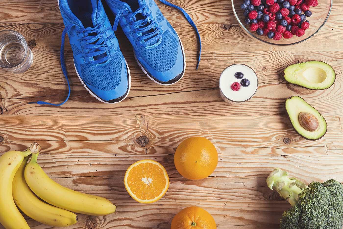 Alimentación para runners, deportistas